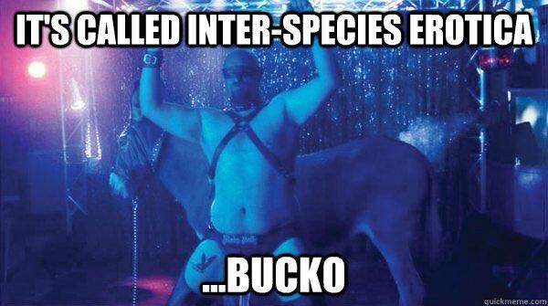 Erotica inter species