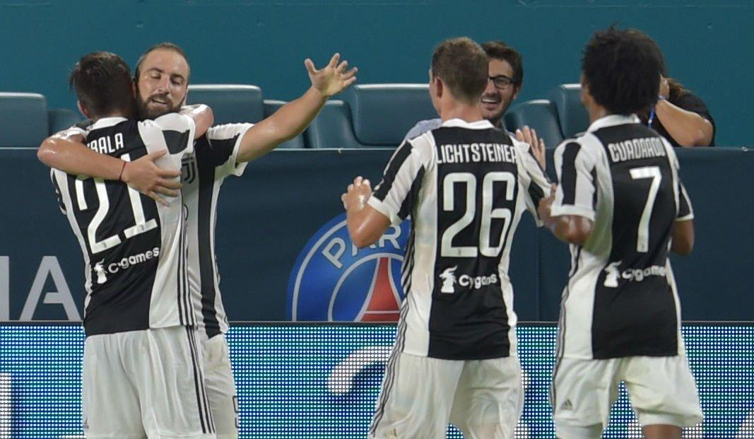 Juventus marca de pênalti no fim e vence o PSG por 3 a 2, em Miami https://t.co/mfaPbPeKwq