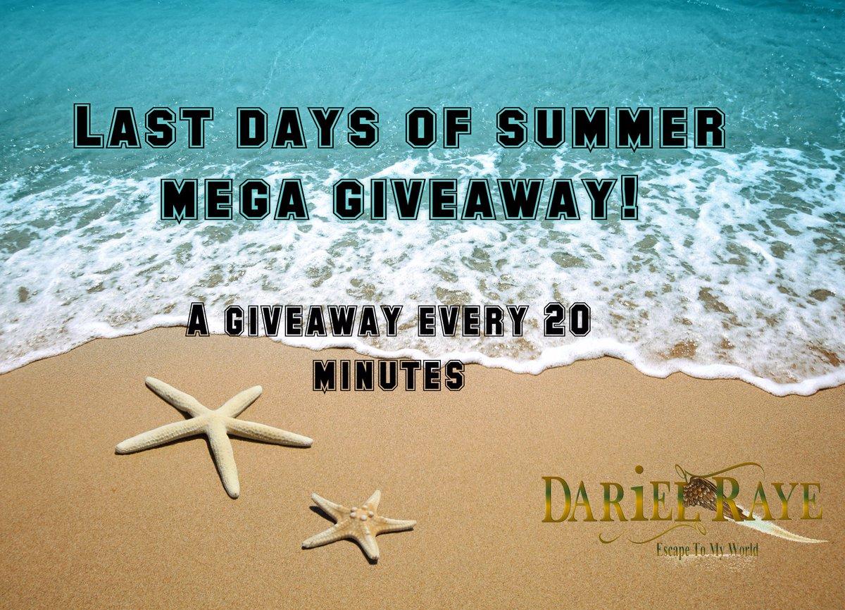 Last Days of Summer Mega #Giveaway #ASMSG  http:// darielraye.com/featured-givea ways/ &nbsp; … <br>http://pic.twitter.com/hVRrxgfLHD