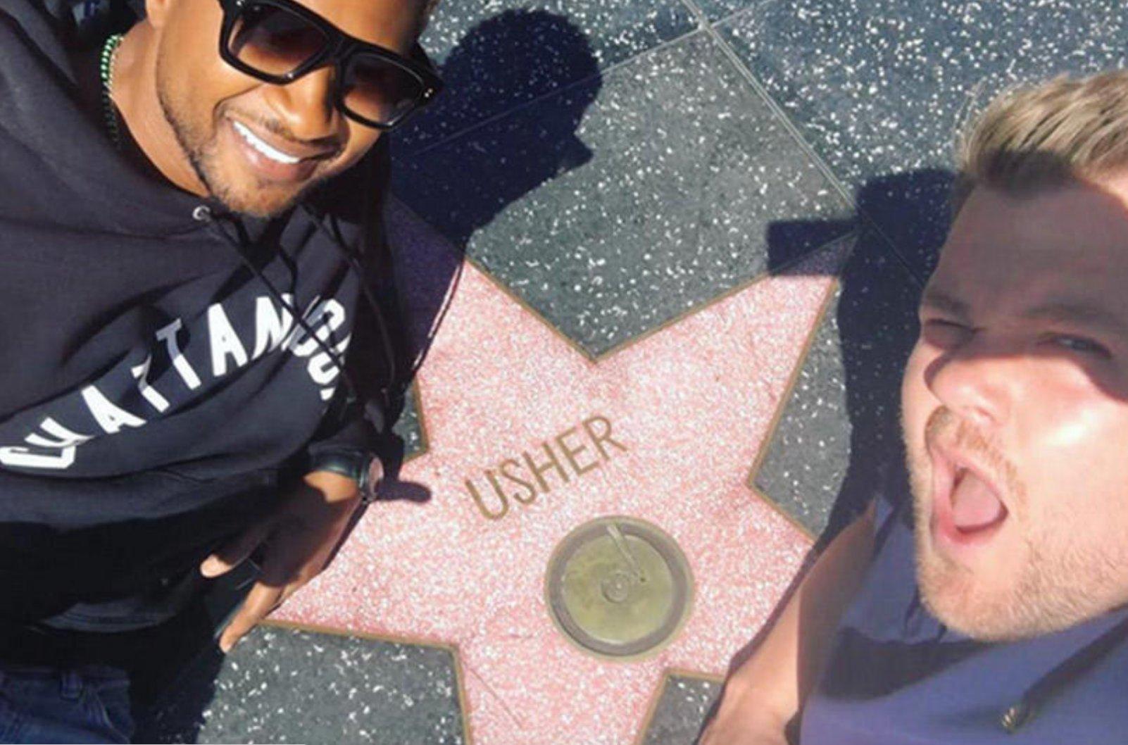 Usher's Carpool Karaoke is finally here! https://t.co/3ZAmM6DBBE https://t.co/1pMhYjMXI6