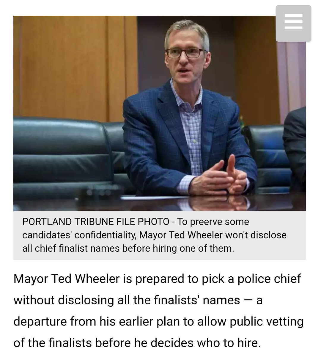 In &#39;99, Mayor Katz announced Police Chief finalists then hosted forum so the public could question them #leadership  http://www. pamplinmedia.com/pt/9-news/3670 66-248743-public-may-not-be-informed-of-police-finalists-names &nbsp; … <br>http://pic.twitter.com/33G0GSID4P