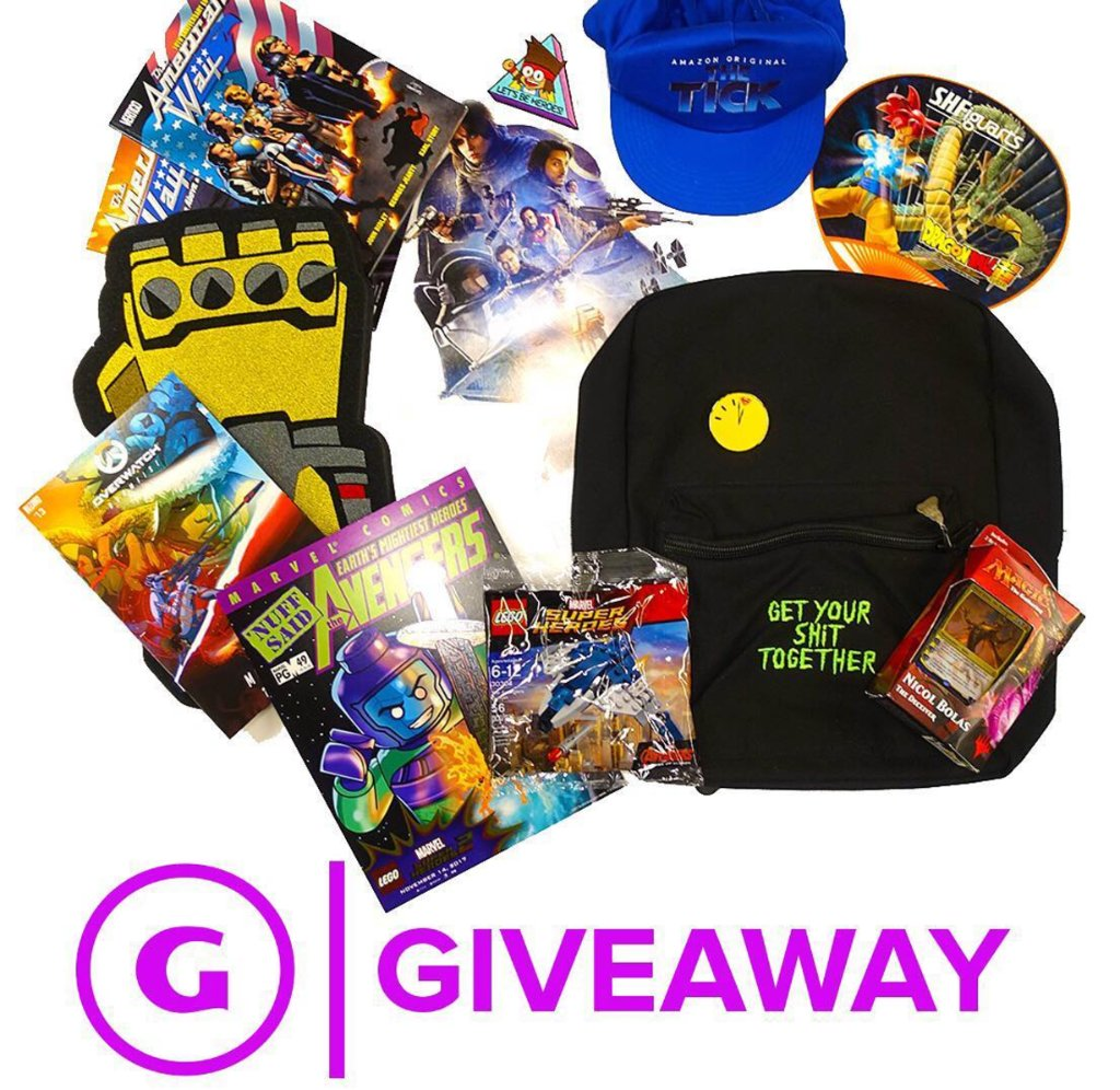 Retweet gamespot: #Giveaway: Enter for a chance to win all this swag from Comic-Con!  http:// l.gamespot.com/60158sFF3  &nbsp;   <br>http://pic.twitter.com/9dwuvUWHoo …