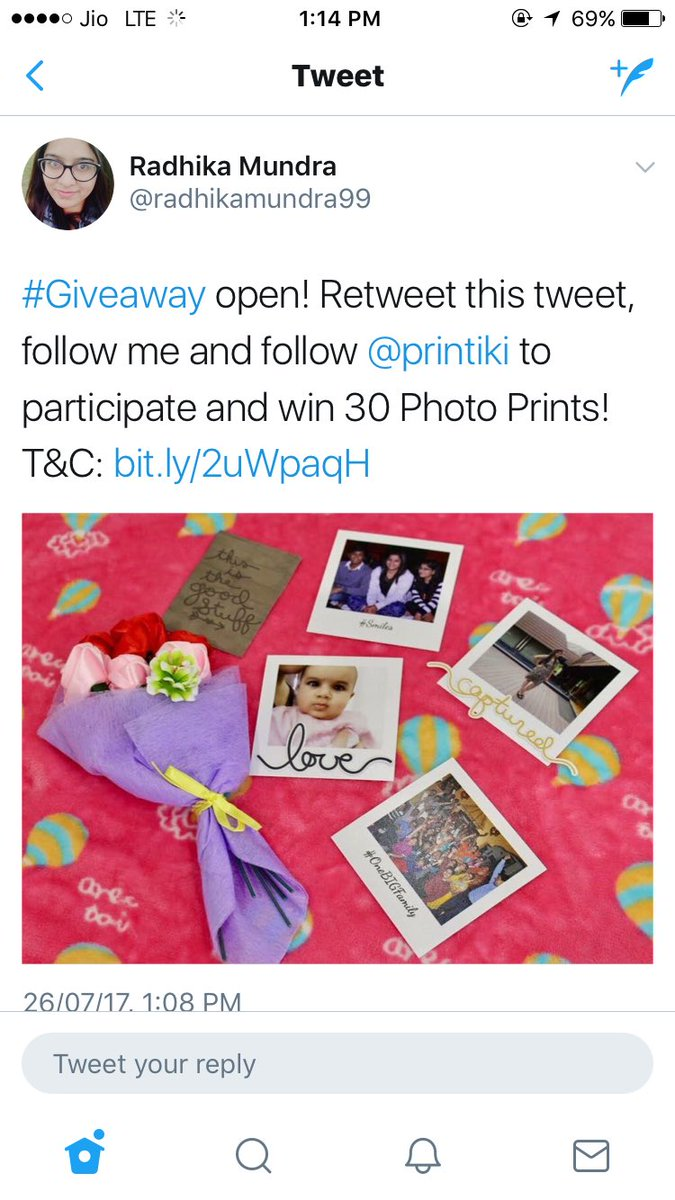 The #Giveaway ends at 1 PM today! Participate now:  http:// bit.ly/2uWpaqH  &nbsp;   #contestalert @india4contests @printiki Open #Worldwide! Hurry ^^<br>http://pic.twitter.com/lmaOwuRPdw