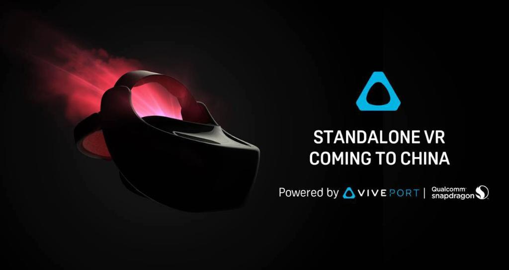Look ma, no wires! @HTCVive has unveiled its first standalone #VR headset, powered by #Snapdragon 835. Can&#39;t wait to get our  on it!<br>http://pic.twitter.com/7MwsgryUrZ