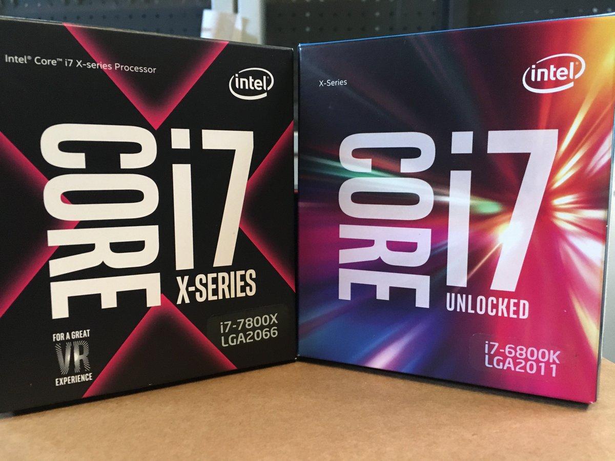 Procesador Intel Core i7-7800X X-Series