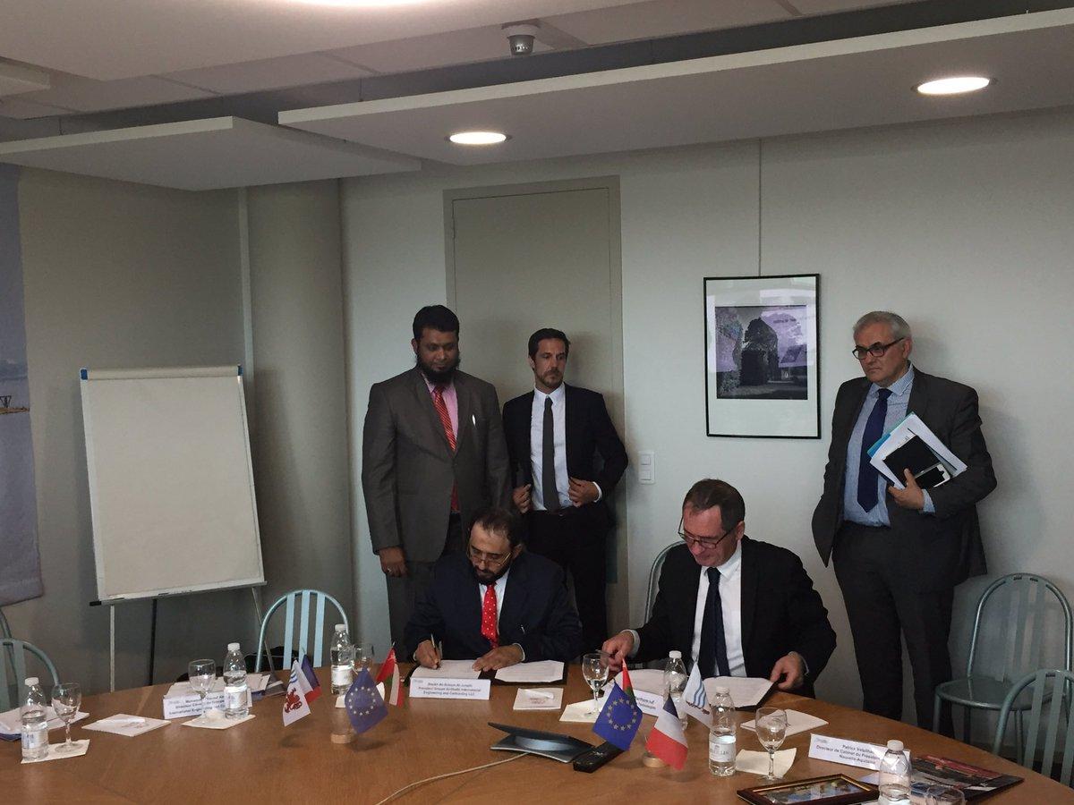 Félicitations à @XamenTechno pr cet accord avec la société Omanaise Al-Ghalbi. Developpement a l'export pr les drones de @NvelleAquitaine !