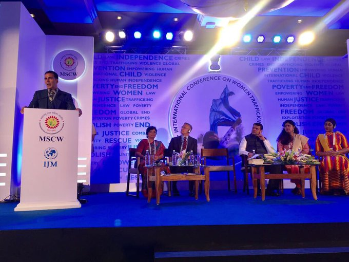 At Maharashtra State Commission for Women's International Conf. on Women Trafficking 2 address this global problem on an international level https://t.co/WON83VUnah