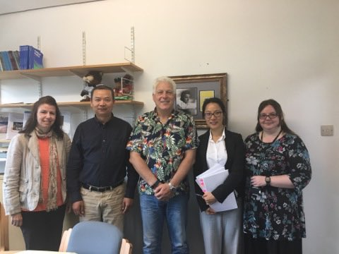Congratulations to Yixin Wang-Taylor on successfully defending her #phd thesis on predictors of #academic success @eng_lang_tefl @SwanseaUni<br>http://pic.twitter.com/NPDJ00MkHW