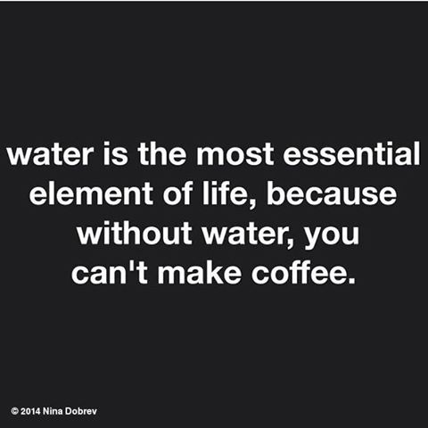 WATER... IT IS ESSENTIAL   #1stWorldProblems #coffee #starbucks #coffeetime #goodmorning #morning #cafe<br>http://pic.twitter.com/87YxshLgdu