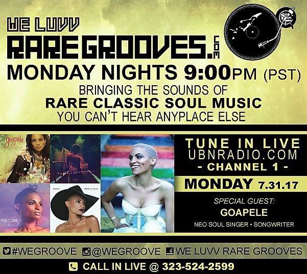 This Monday .... we are so excited to Welcome @Goapele to The Groove Studio . #radio #music #soul #neosoul #goapele #singer #vintage<br>http://pic.twitter.com/oC0EIVEWxk