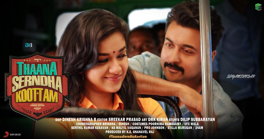Thaanaa Serndha Koottam (Gang) (2018) Proper UnCut HDRip – 720p – x264 – Hindi (Original) + Telugu + Tamil – 1.4GB Download