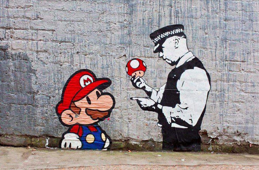Картинки граффити из игры