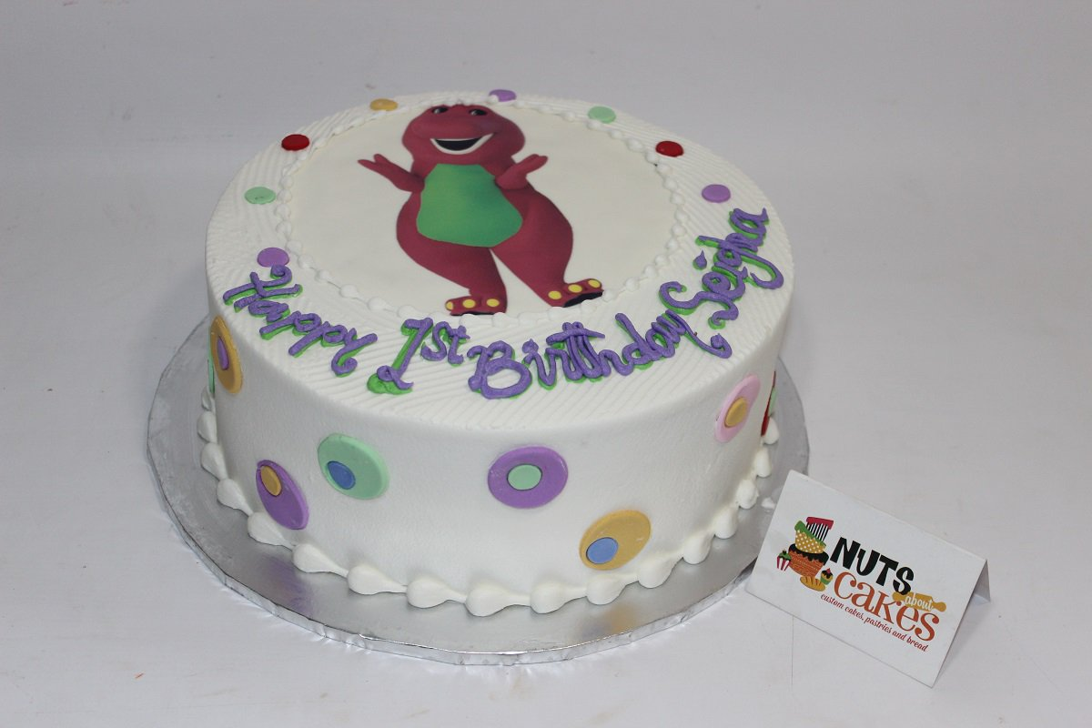 Nuts About Cakes On Twitter Do Not Hesitate To Make Barney Theme
