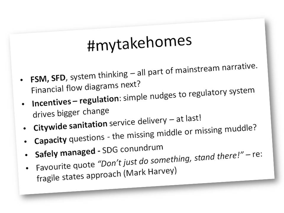 #mytakehomes #wedc40 #wash Thanks @WEDCUK https://t.co/jBvuJjBw8F