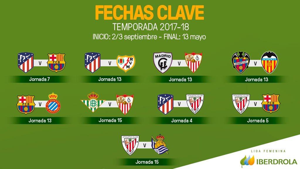 Calendario Lfp.Laliga On Twitter Ya Hay Calendario Para La Ligaiberdrola 2017
