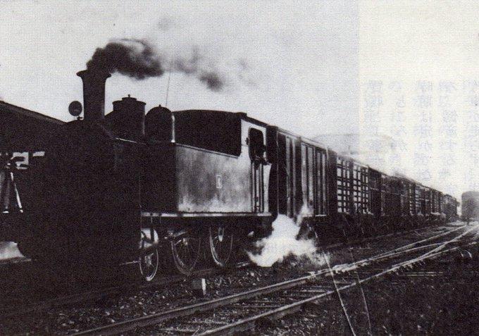 流山鉄道の蒸気機関車の写真と映...