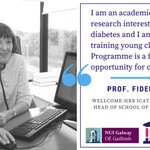 Meet the ICAT team: Prof. Fidelma Dunne represents @NUIG_Medicine on the #ICAT steering committee https://t.co/azEkzjSOWZ