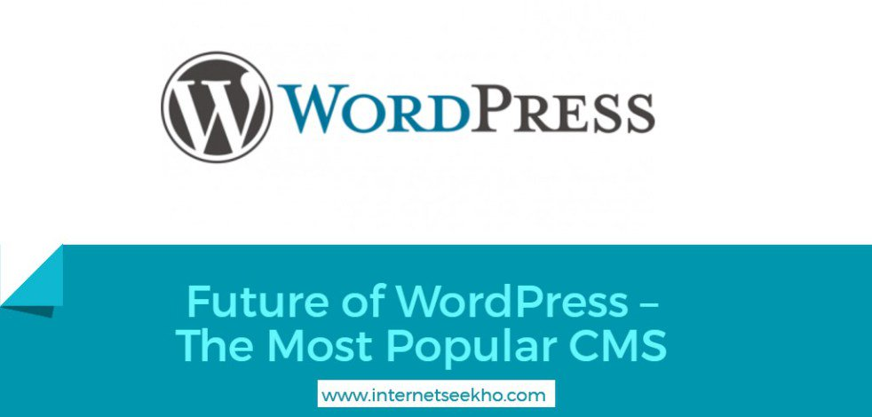 #Future of #WordPress – The Most Popular #CMS  https:// internetseekho.com/future-of-word press/ &nbsp; … <br>http://pic.twitter.com/OBzjbw5W3M