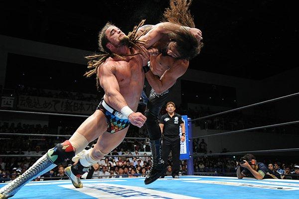 """NJPW: Resultados """"G1 Climax 27 Día 8"""" 27/07/2017 Kenny Omega cae ante Michael Elgin 3"""
