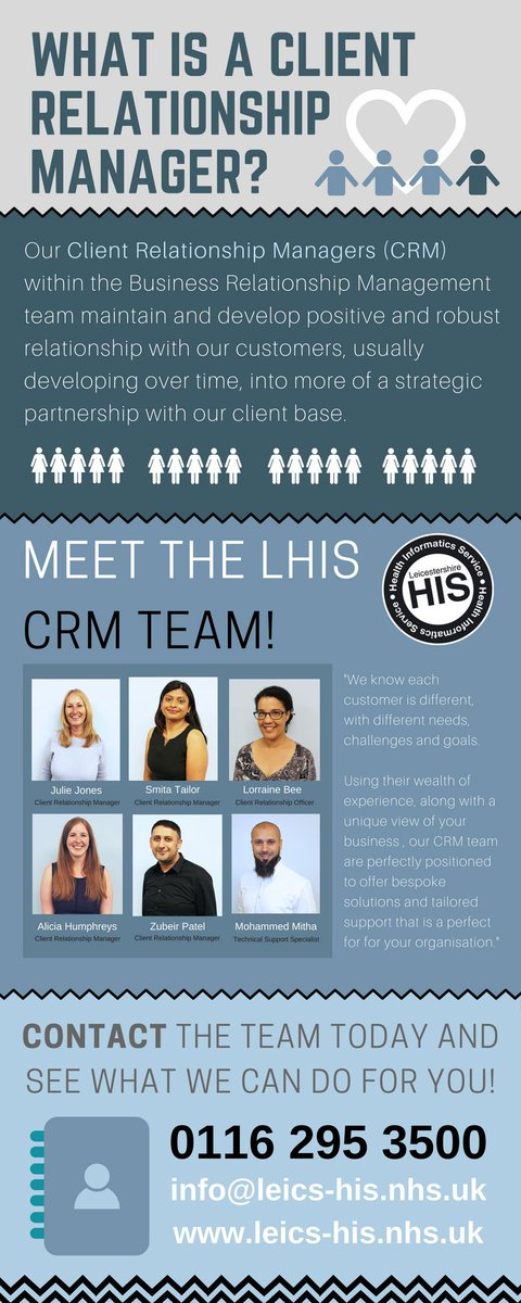 What is a #CRM? Our fantastic #ClientRelationshipManagers are your point of contact; offering support &amp; development  http:// bit.ly/2v1uN6Q  &nbsp;  <br>http://pic.twitter.com/v6cJ2kwgFm