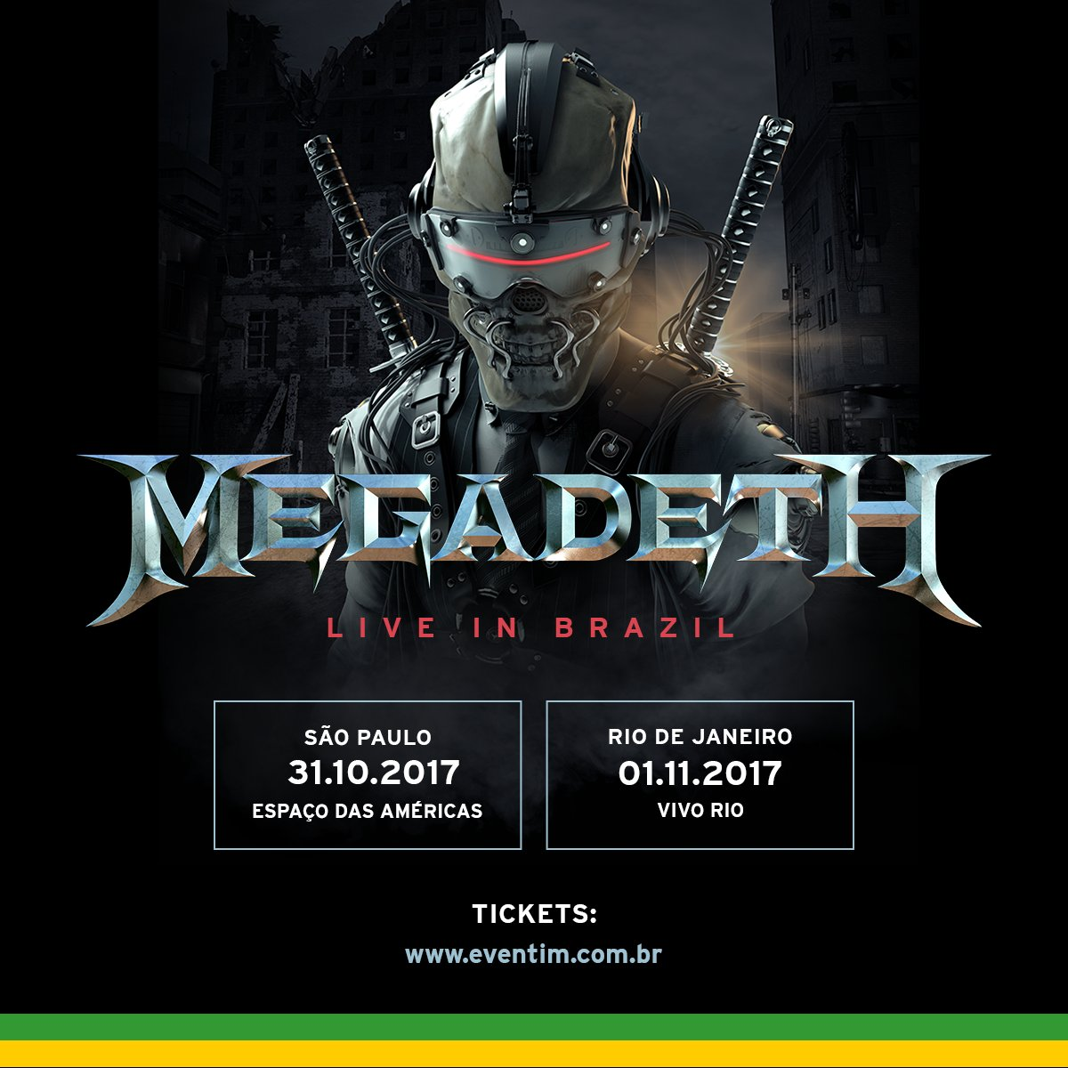 VIP Meet & Greet + Side Stage Packages available for Sao Paulo 31/10 & Rio De Janeiro 1/11. Compre já o seu!  https://t.co/vO15zOHKGL#Brazil