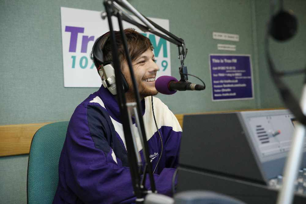 VIDEO: Watch @Louis_Tomlinson's interview on Trax FM here now >>> https://t.co/rLBP1XvH9x https://t.co/qiGCIByrQY