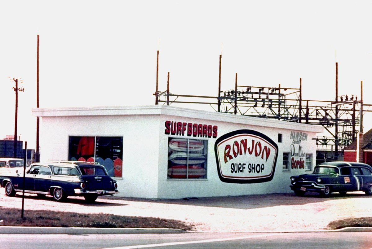 """It's #NationalNewJerseyDay!  Enjoy these photos from """"The Original"""" Ron Jon Surf Shop. https://t.co/K4ohTAeFoL"""