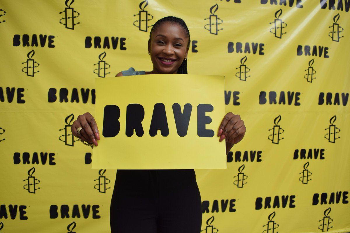 Building #Nigeria of our dream starts now. Bravery is all it takes to fight injustice, inequality and all other threats to freedom. #BeBRAVE