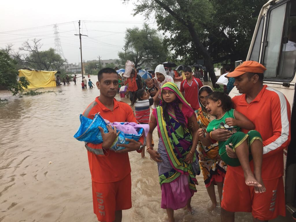 Over 55,000 shifted, death toll reaches 126, More NDRF teams to arrive