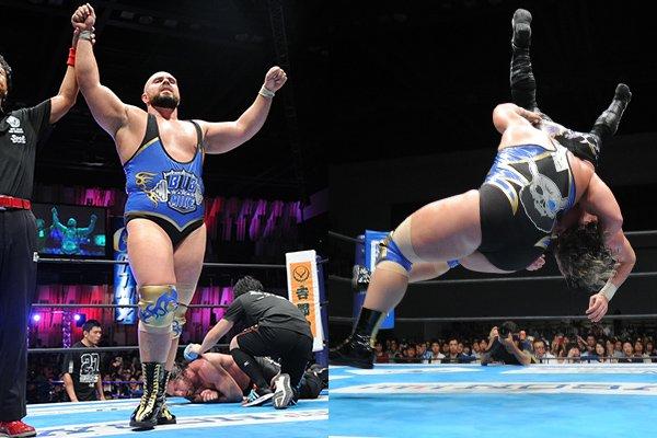 """NJPW: Resultados """"G1 Climax 27 Día 8"""" 27/07/2017 Kenny Omega cae ante Michael Elgin 7"""