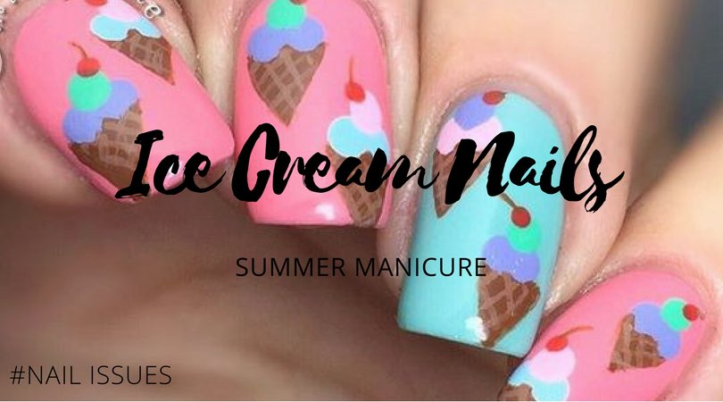 Summer-ish nail art  Ice cream Nails #nailIssues #SummerIssues #TrendReport  http://www. issuemagazine.gr/articleCategor y/Beauty/article/summer-manicure-ice-crem-nails &nbsp; … <br>http://pic.twitter.com/82CSnvQDaV