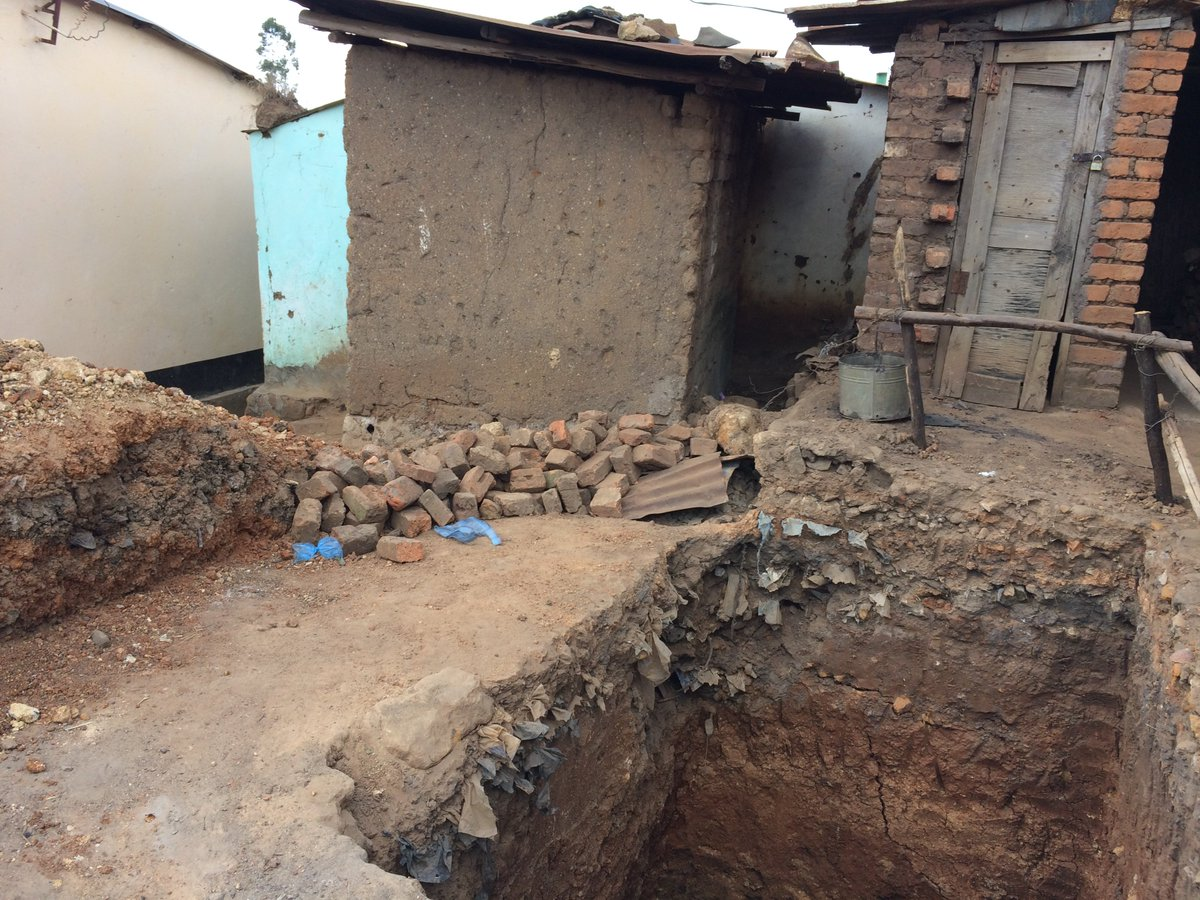 Pit Toilets Construction : Richard quilliam on twitter quot pit latrine construction in