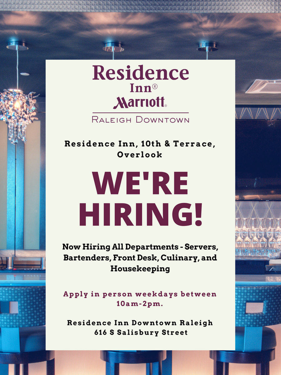 We Are Hiring Ly In Person Weekdays 10am 2pm Ridtr Hotel Server Bartender Frontdesk Housekeeping Https T Co Xuodmqdmaz