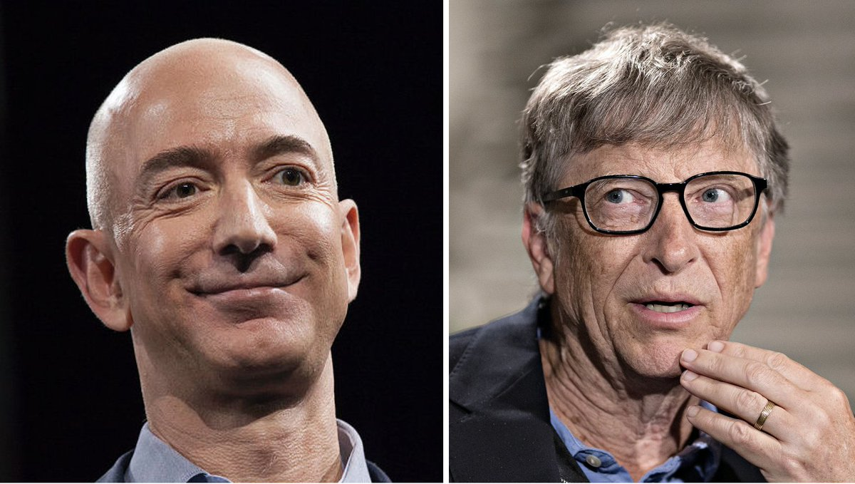 JUST IN: Jeff Bezos surpasses Bill Gates as the world's richest person https://t.co/EBO5EGK09B