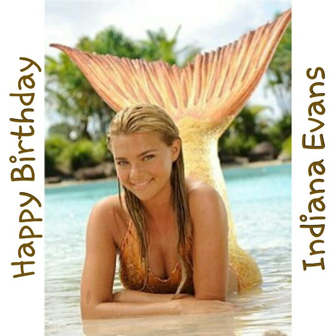 Happy Birthday Indiana Evans   Much Peace, Health And Happiness