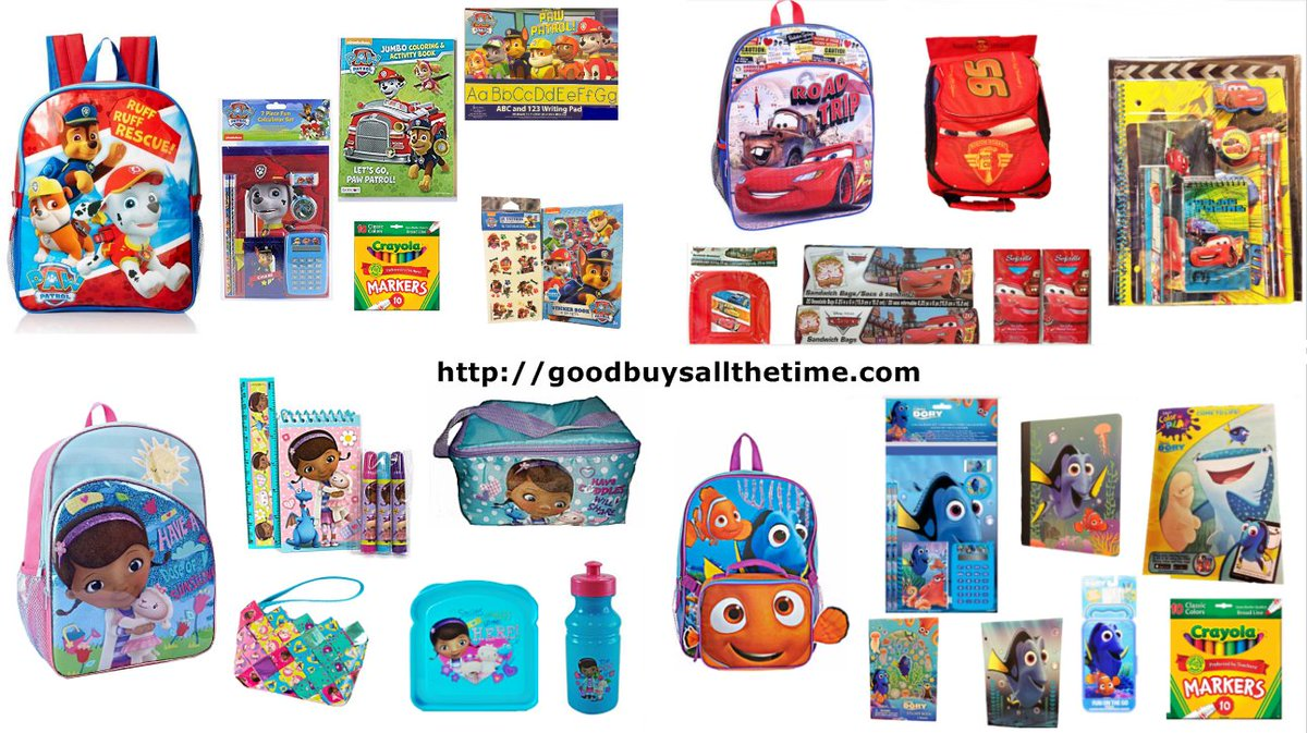 It&#39;s #BacktoSchool Time We have a Large selection of Backpacks Lunch Bags and School Supplies #ad Visit  http://www. amazon.com/shops/GoodBuys AllTheTime &nbsp; … <br>http://pic.twitter.com/y3n82oEyA6