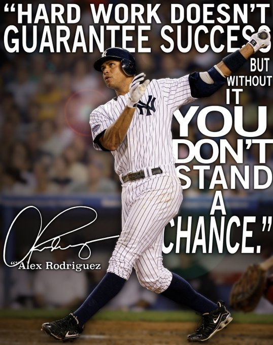 We wish Alex Rodriguez a very Happy 42nd Birthday. Thanks for all the memories,