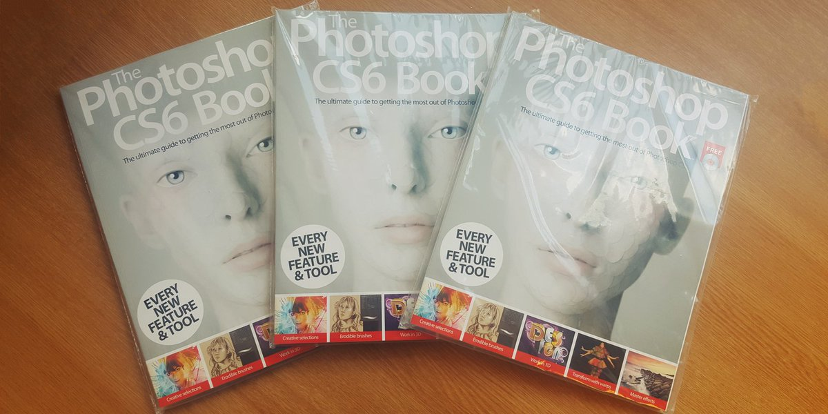 #GIVEAWAY!  RT and follow to #WIN the Photoshop CS6 Book - three winners will be picked next week! https://t.co/D7Y9Jo6f1I