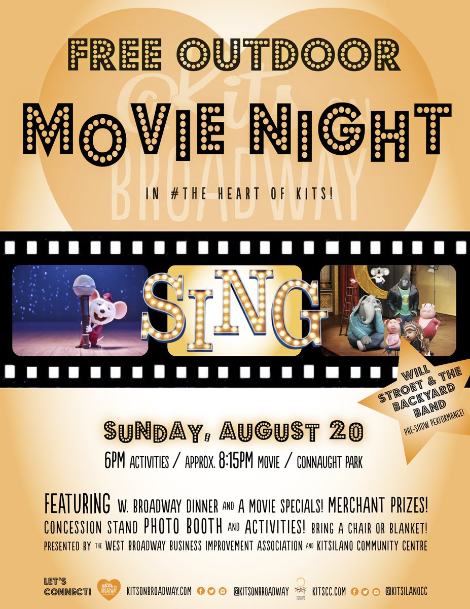 west broadway bia on twitter join us aug 20th for an outdoor movie