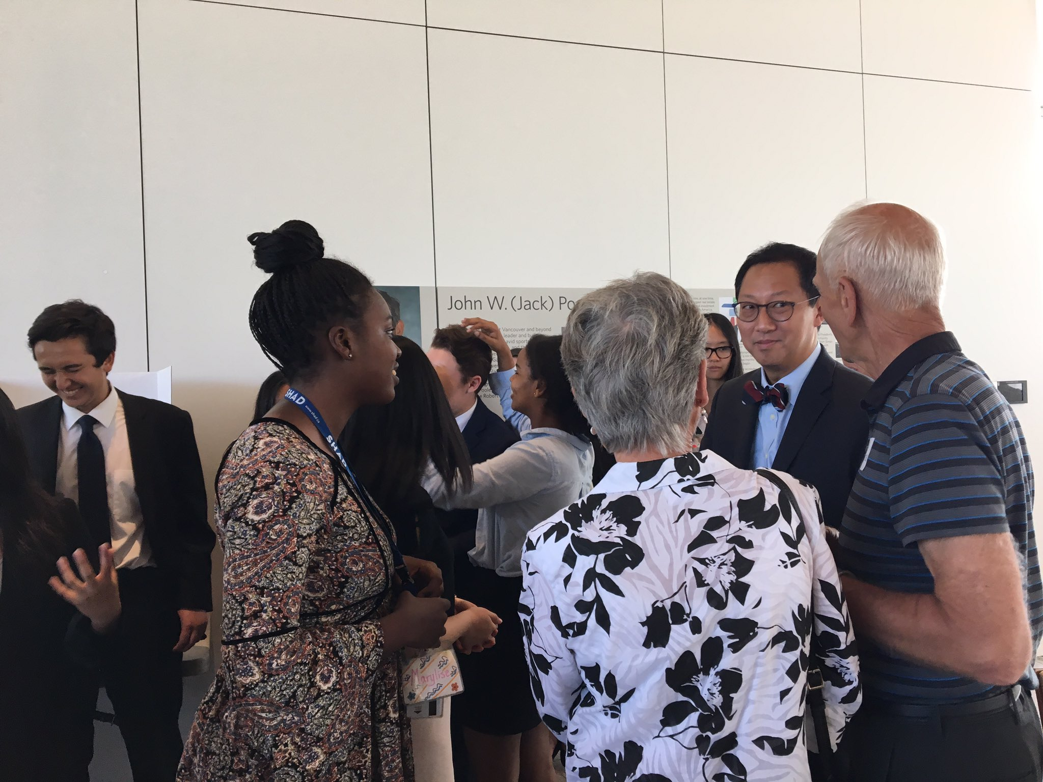 Thank you , @ubcprez for coming as our esteemed guest to our SHAD Open Day! #SHADOpen https://t.co/mUeqx6t49b