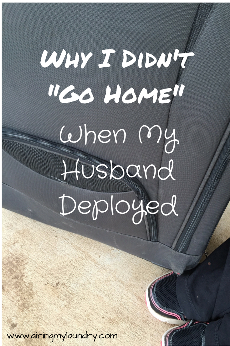 RT @WhisperAmber: When my husband deploys, I don't go home. https://t.co/8R4yVoo5XJ #milspouse #deployment #military https://t.co/YS19ayjDBR