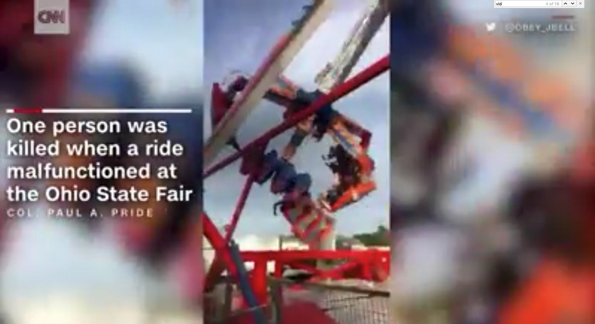 Graphic video shows ride malfunction at Ohio State Fair https://t.co/ZuDWZO6d4G