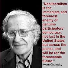 Chomsky is right and &quot;Liberal&quot; in &quot;#Neoliberal&quot; is ref.to mix of Classical #Liberal #Economics (of Brit Empire!) &amp; Hayek/Friedman Psycho-BS! <br>http://pic.twitter.com/lz6rjgjDWG