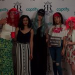 Captify NYC wigged out with some of our favorite clients last night. It was epic. #SwigsandWigsCaptify #RoyalRegret