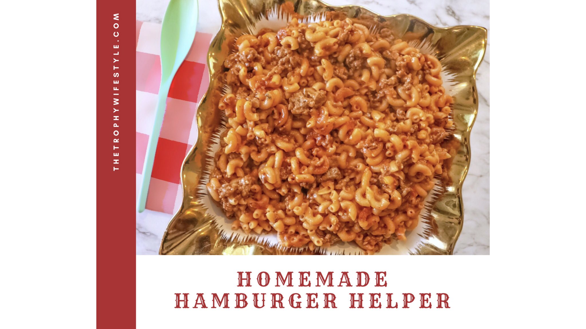 RT @kourtneelynne: Homemade Hamburger Helper 😻  Recipe 👉🏼 https://t.co/Xdjou5kMVX https://t.co/zaXW7gRRCB
