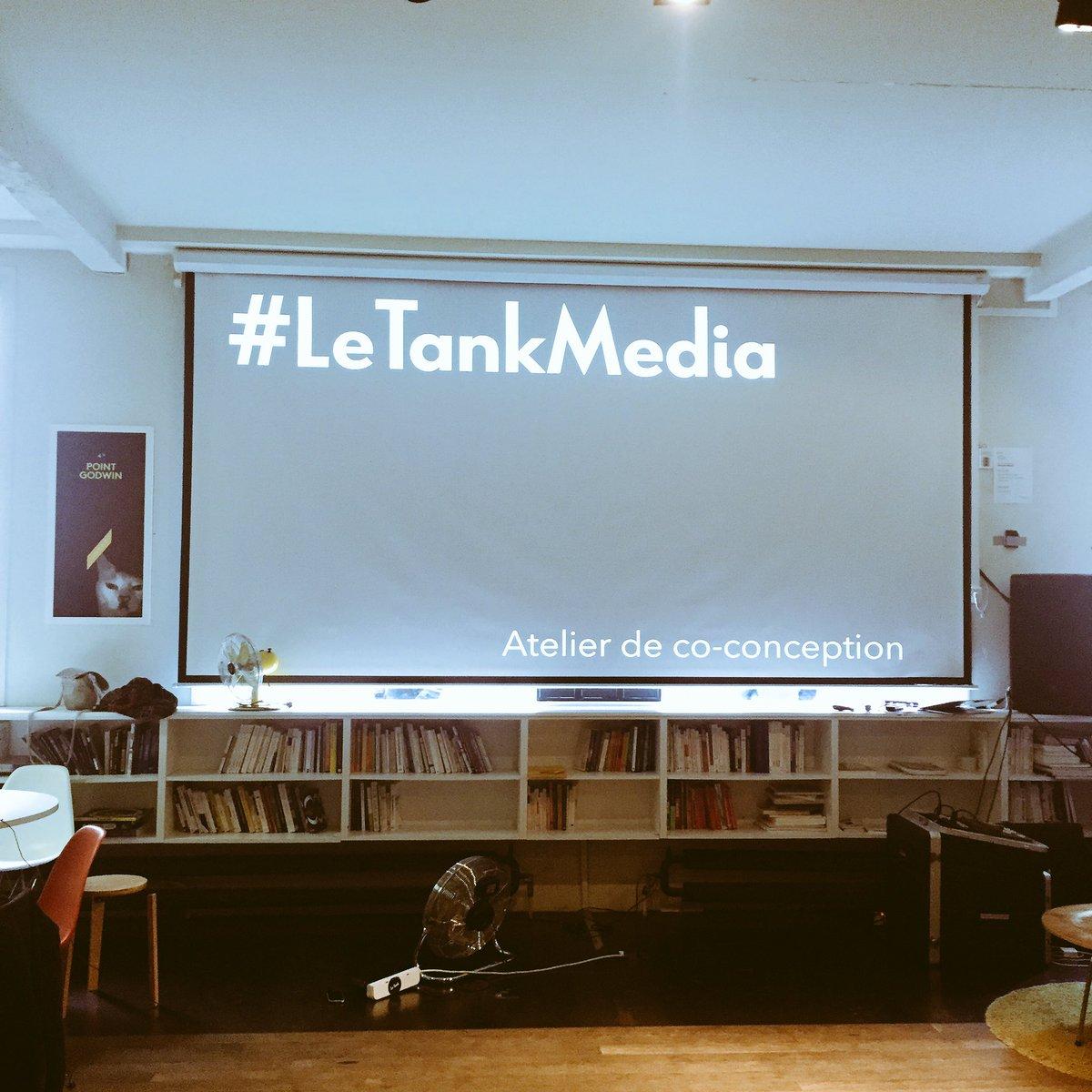 atelier co-conception #LeTankMedia @letankmedia #futureofmedia #futureofwork #media #entrepreneuriat #intrapreneuriat  #incubateur #medias<br>http://pic.twitter.com/rqwyx1Hb0S