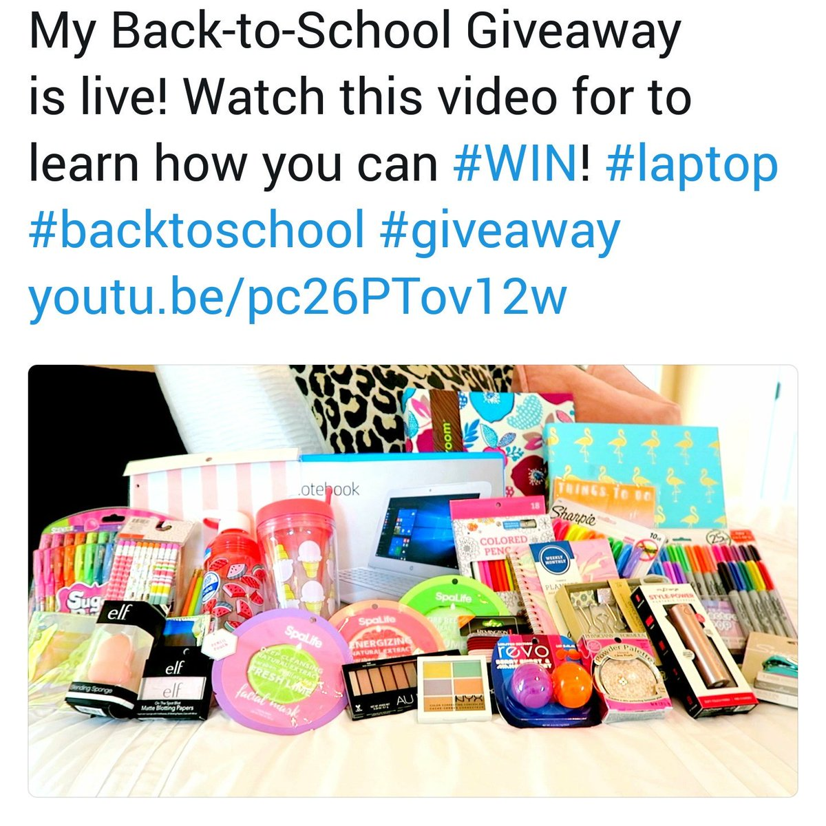 This is my retweet sorry i dont know how to work twitter  #WIN #Laptop #backtoschool  #giveaway  http:// youtu.be/pc26PTov12w  &nbsp;  <br>http://pic.twitter.com/7LMyqnrI1a