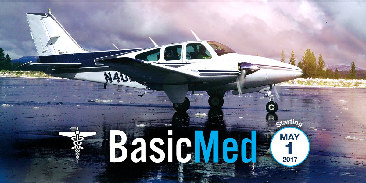 #DYK 14,000 #pilots have been certified to fly under the new #BasicMed program? https://t.co/3S05tl5M4s  #OSH17