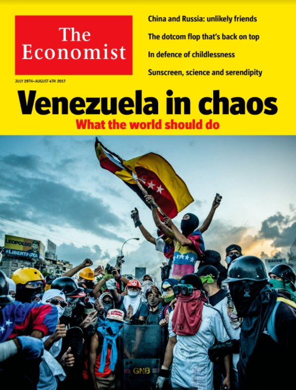 Venezuela is an economic and humanitarian calamity. This should alarm the rest of the world. Our cover: https://t.co/oBMU4mJeWB