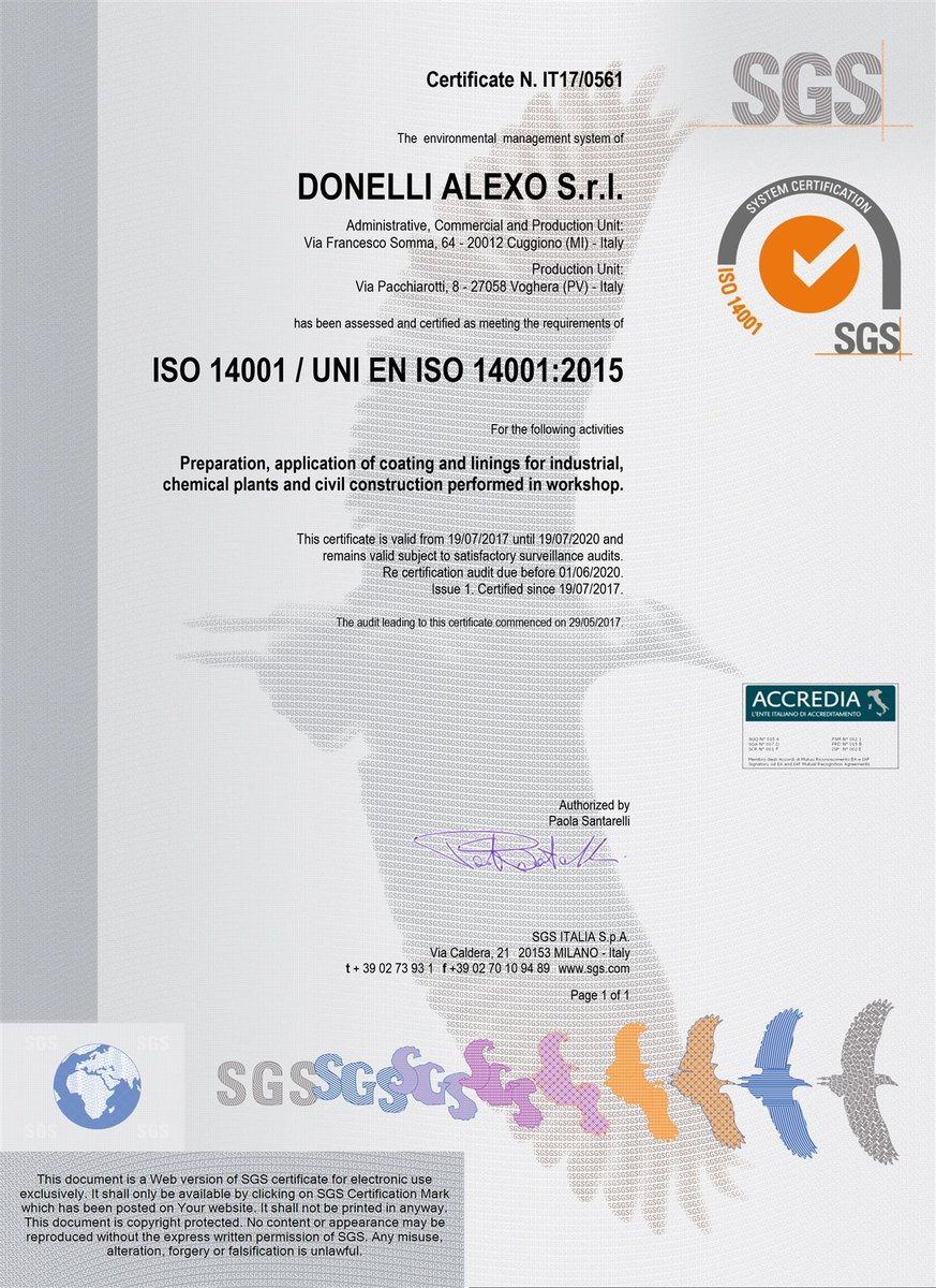 Yes, we are #ISO14001! Pleased 2 announce Donelli Alexo awarded #ISO 14001 Certification   http:// buff.ly/2uDgbZa  &nbsp;   #environmental #management<br>http://pic.twitter.com/vfdctDkhSO